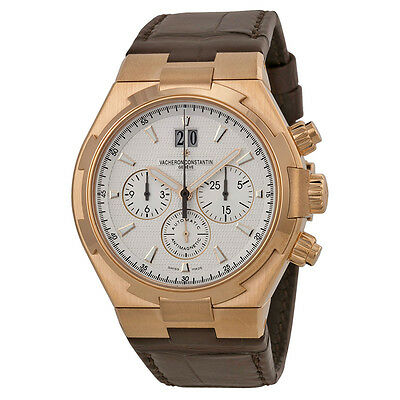 Vacheron Constantin Overseas Silver Dial Chronograph Mens Watch 49150000R-9454