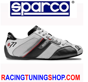 SCARPE-SPARCO-TIME-77-TG-44-WHITE-SHOES-SNEAKERS-SPARCO-SCHUHE-TEAMWEAR-SIZE-44
