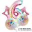 Unicorn-Balloons-Rainbow-Birthday-Party-Decorations-Princess-Girl-Foil-Latex thumbnail 8