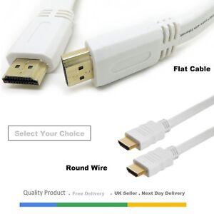 0-5M-1M-1-5M-2M-8M-Premium-UltraHD-Cable-Hdmi-v1-4-Alta-Velocidad-de-plomo-1080p-3D