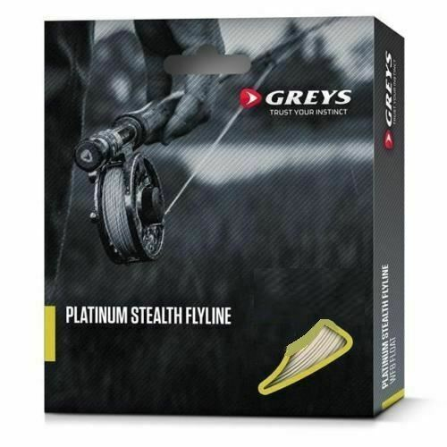 Trout Fishing Greys Platinum Stealth Fly Line