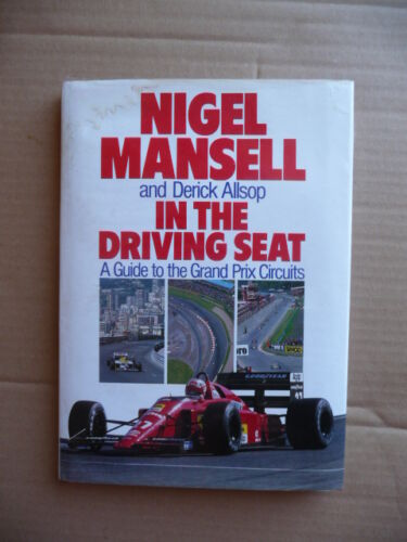 1 of 1 - Grand Prix Circuits. In The Driving Seat.  by Nigel Mansell. 1989.