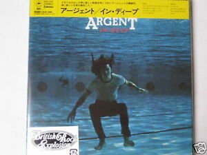 "ARGENT ""In Deep Japan mini LP CD - Deutschland - ARGENT ""In Deep Japan mini LP CD - Deutschland"