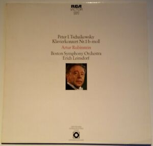 Tchaikovsky Piano Concerto No 1 Artur Rubinstein Leinsdorf RCA Victor Stereo