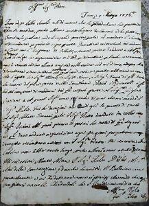 1776-181-LETTERA-SU-NASCITA-REGGENTE-D-039-UNGHERIA-GIUSEPPE-D-039-ASBURGO-LORENA