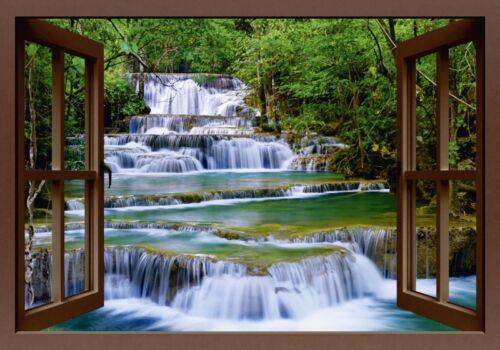Poster oder Leinwand Bild lkunl Landschaften Fensterblick Fotografie Braun C0DG