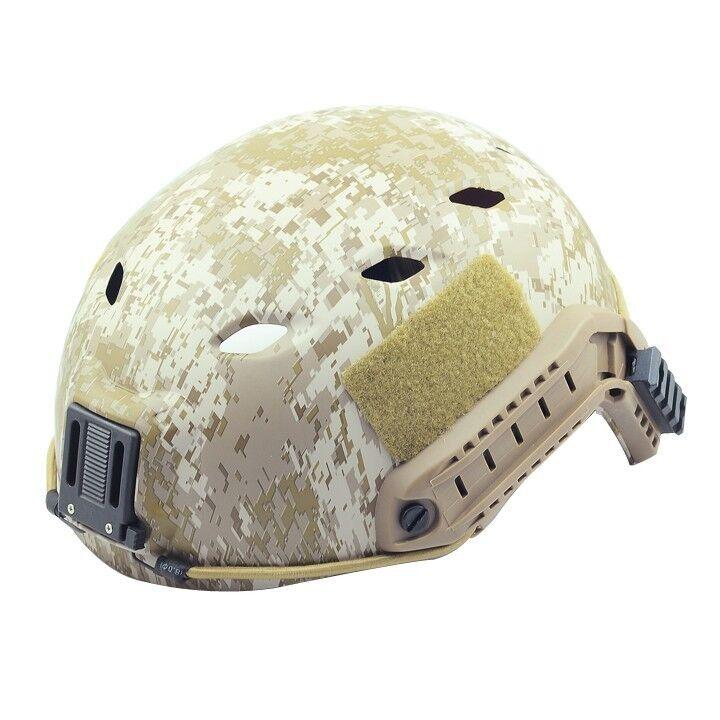 COOL New Airsoft CS Predective FMA Base Jump Helmet Digital Desert PA475L XL