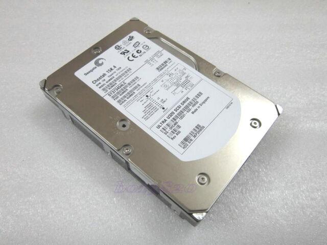 SEAGATE  ST373454LC 73GB 15K  80-pin U320 SCSI HARD DRIVE