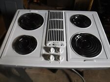 Item 1 Jenn Air JED8430 White Electric Cooktop  Jenn Air JED8430 White Electric  Cooktop
