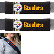 Pittsburgh Steelers Seatbelt Shoulder Pads Protector Universal Car Trucks Pair