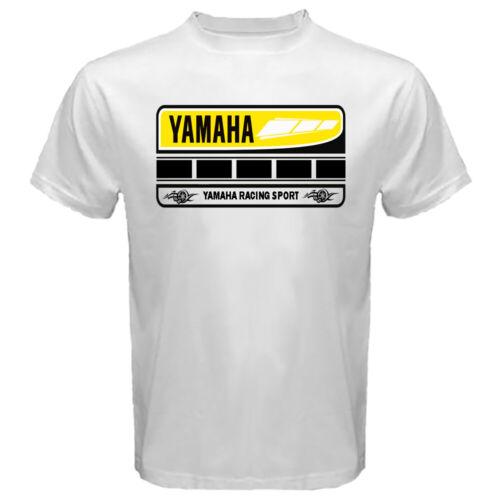 Yamaha 60th Anniversary Motorcycle Gear Parts Tee Shirt Men/'s White Tshirt S-2XL