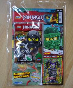 Lego Ninjago série 3 TCG Gold limitatifs Carte le20 Oni-Masques Ultra Violet