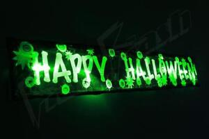Flashing-Halloween-decoration-sign-3FT-prop-light-up-party-spider-pumpkin-led