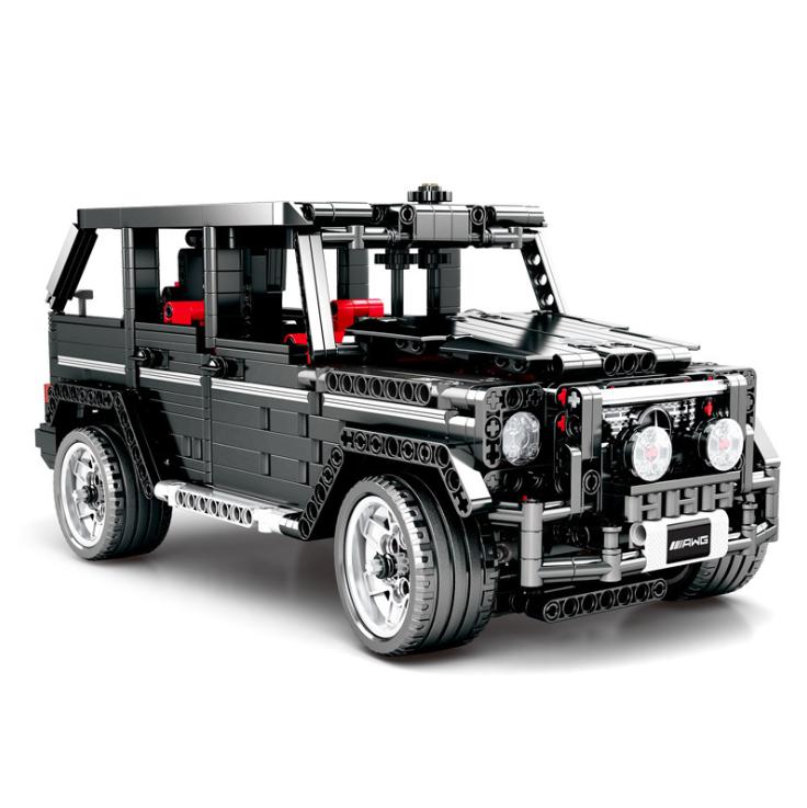 Baukästen Modellbausätze Geländerwagen G-Klasse G500 1343PCS Spielzeug Modell