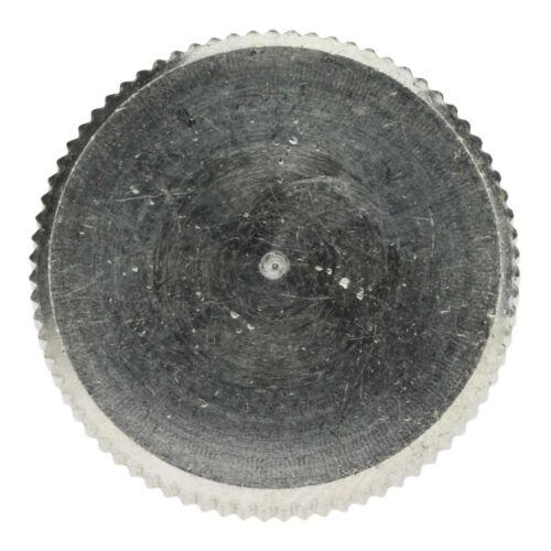 A1 blank hohe Form 25 x DIN 464 Rändelschrauben M 3 x 12