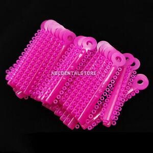 1bag Dental Elastics Barbie Pink Ligature Ties Elastic Rubber