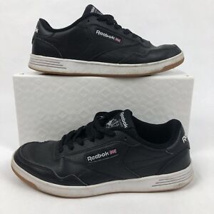 c766e012ed5 Reebok Club MEMT Gum Sole Black White Dad Shoes Mens 9.5 Walking ...