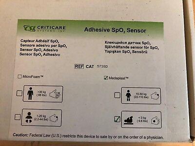 100% Wahr 24 Stück Criticare Adhesive Spo² Sensor Selbstklebend -3kg Kg Medaplast 573sd