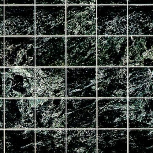 Dollhouse Miniature Black Marble Tile Flooring