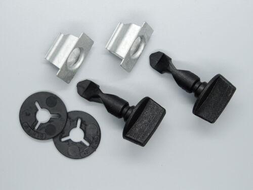 1 set parachoques cubierta enganche remolque clips para audi a1 a3 q5 q7 seat VW