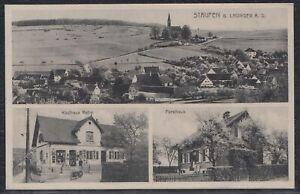 AUG 35621) AK Staufen b. Lauingen Donau Kr. Dillingen Kaufhaus Forsthaus 1933