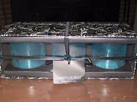 Three Luxehabitat Decorative Candle Holders (india) -- -- Free Shipping