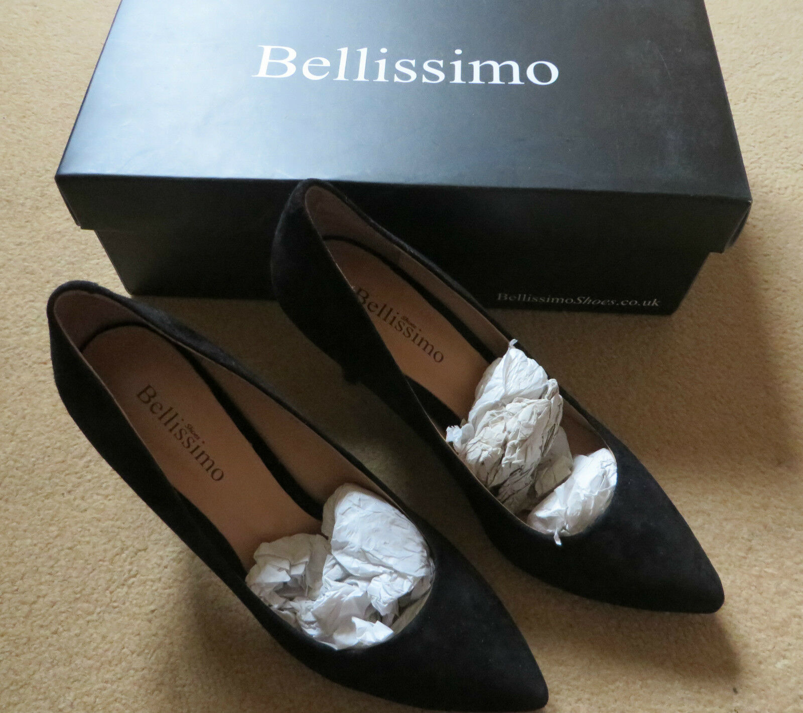 Bellissimo shoes, Ladies Court, Size 4 (37)