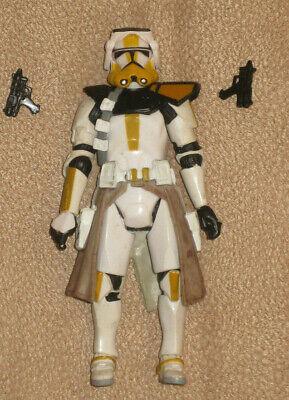 Lego Star Wars Clone Trooper Commander Arc Red Fox min figure custom