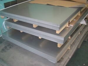 "4130 Chromoly Alloy - Normalized Steel Sheet / Plate 1/8"" .125 Thick 6"" X 12"""
