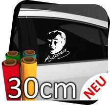30cm Mustafa Kemal Atatürk Imza Imzasi Türkiye Auto Spiegel Sticker Aufkleber