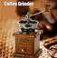 miniatura 3 - Retro Café Mano Molinillo De Especias Judía Mini Manual Madera Acero Inoxidable