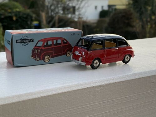 1:43 Mercury Fiat 600 Multipla by Raceface-modelcars