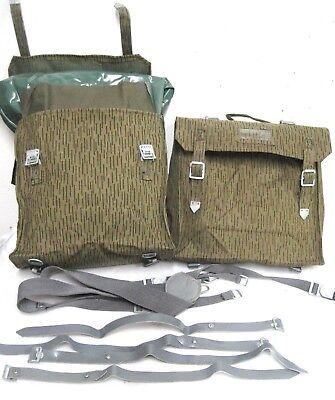 2x Simson MZ Seitentaschen Sturmgepäcktaschen NVA DDR S50 S51 innen gummiert