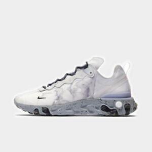Nike Men S X Kendrick Lamar React Element 55 White Grey