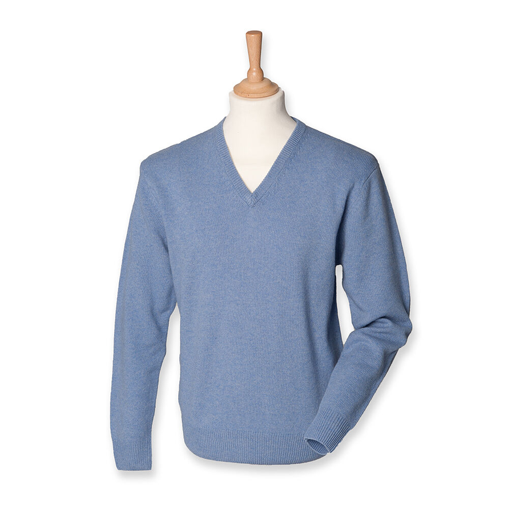 Herren Pullover 100% Lammwolle Herrenpullover V-Ausschnitt S M L XL XL XL XXL   Elegante und robuste Verpackung  5e2359