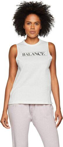 Tank-Top T-Shirt Sport Weiß Under Armour Damen Balance Graphic Muscle Tank MD