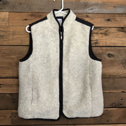 Womens Catalina Fleece Vest Sz L Fill Zip