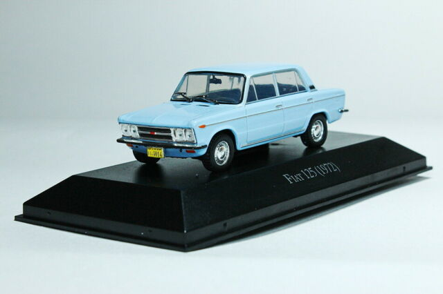 IZH-27156 USSR Soviet Van Passenger Blue 1972 Year 1:43 Scale Diecast Model Car