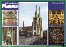 Marburg Lahn Klaus Laaser # 20 Elisabethkirche Portal Statue Schrein Fenster