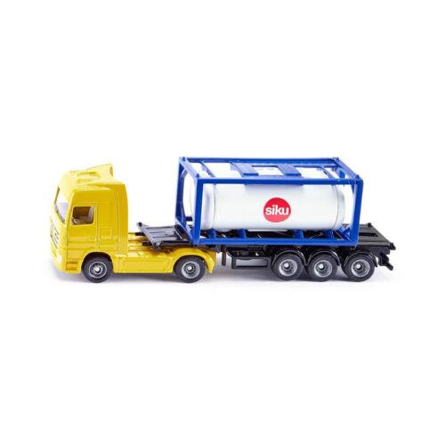 ° Siku 1795 Camion con cisterna contenitore giallo//bianco scala 1:87 NUOVO