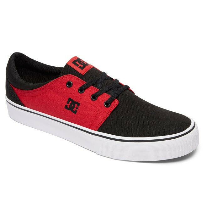 DC shoes TRASE TX shoes Sneaker ADYS300126 Black White Red NEW