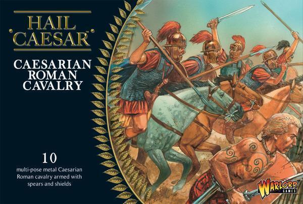 CAESARIAN ROMAN CAVALRY - HAIL CAESAR - WARLORD WARLORD WARLORD GAMES - 1ST CLASS f9d97c
