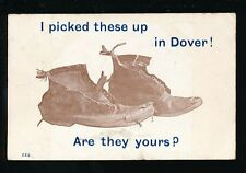 Kent DOVER Boots Comic PPC Used 1909