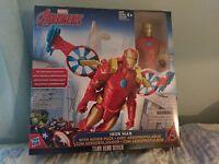 Marvel Titan Hero Series Iron Man With Hover Pack Hasbro