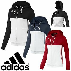 adidas-Ladies-T16-Climalite-Hoodies-Womens-Sports-Full-Zip-Hooded-Jacket