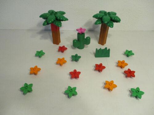 LEGO DUPLO Bäume Blumen Palmen Pflanzen Kaktus AUSWAHL Set Kg Sammlung D2