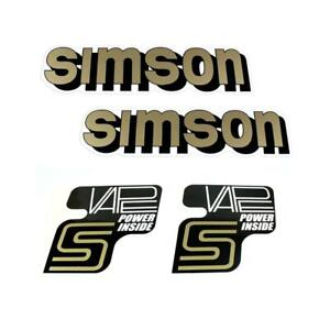 Details Zu Simson Vape 3 Elektronik Zündung Klebefolie Aufkleber Tank Seitendeckel S51 S50