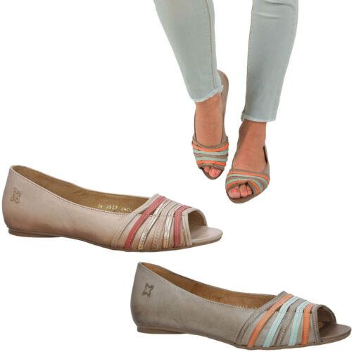 Femmes Ballerines maciejka Elegant Confortable Pantoufles Plates Bout Ouvert Taille 36-41 Neuf