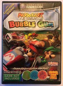 Mario Kart Double Dash Nintendo Gamecube Promo Empty Bubble Gum