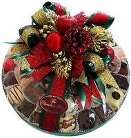 Assorted Belgian Chocolate Platter 10 Luxury Decorated Christmas Gift 800g